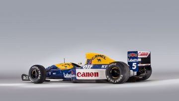 1992 Williams-Renault FW14B chassis '08' Formula 1 car