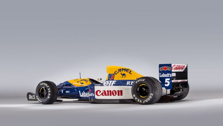 1992 Williams-Renault FW14B Formula 1 Rear Quarter