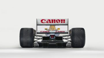 1992 Williams-Renault FW14B chassis '08' Formula 1 car Rear