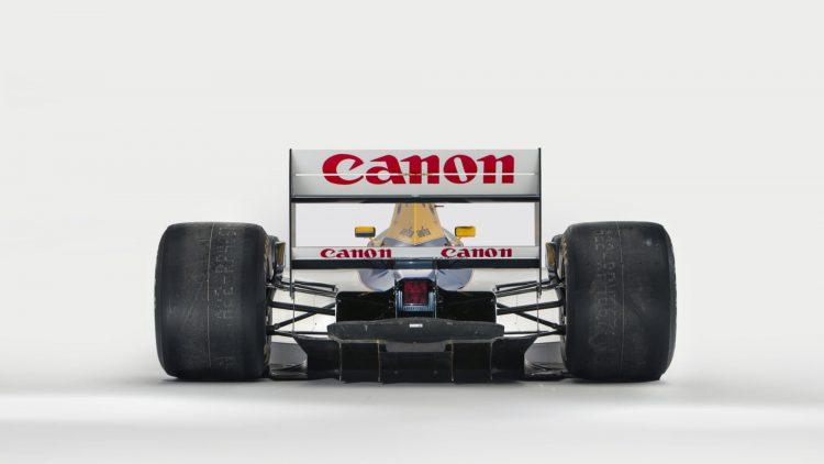 1992 Williams-Renault FW14B Formula 1 Rear