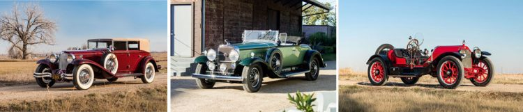 At Amelia Island in March, Bonhams will have the pleasure of offering a 1929 Cord L29 Convertible Sedan, together with two other sporting standouts from pre-war America – a 1930 Cadillac 452 V16 Roadster, and the predecessor of them all, a 1913 Stutz Model A Bearcat.