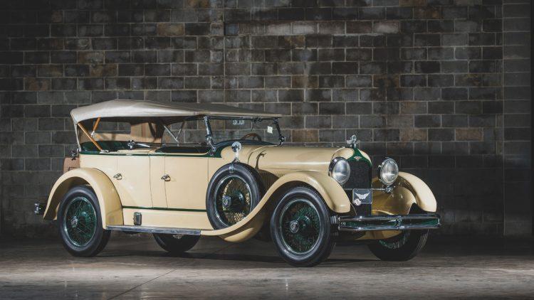1927 Duesenberg Model X Dual-Cowl Phaeton, engine no. X3