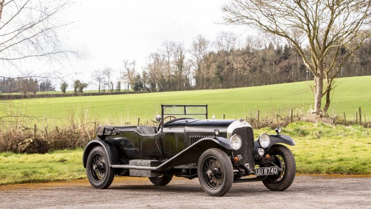 An extraordinarily well preserved 1929 Bentley 4½-litre Tourer, estimate £600,000-800,000 ($755,000 - $1,000,000), is the lead car for the Bonhams Goodwood Members' Meeting 2019 classic car auction.  © Bonhams
