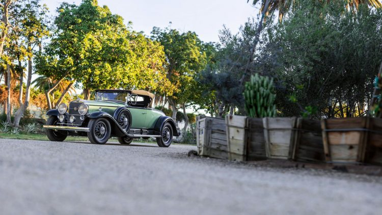A 1930 Cadillac Series 452 V-16 Roadster sold for $1,187,500 as the top result of the Bonhams Amelia Island 2019