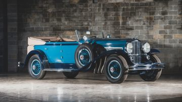 1930 Duesenberg Model J Murphy Convertible Sedan, engine no. J-329