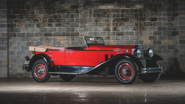 1930 Packard 734 Speedster Eight Phaeton, chassis no. 184100