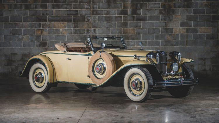 1930 Ruxton Model C Baker-Raulang Roadster, chassis no. 11005
