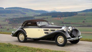 1937 Mercedes-Benz 540 K Cabriolet A by Sindelfingen Tim Scott ©2018 Courtesy of RM Sotheby's