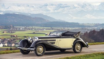 1937 Mercedes-Benz 540 K Cabriolet A by Sindelfingen, estimate €2,000,000 to €2,400,000
