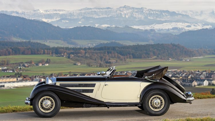1937 Mercedes-Benz 540 K Cabriolet A by Sindelfingen Profile
