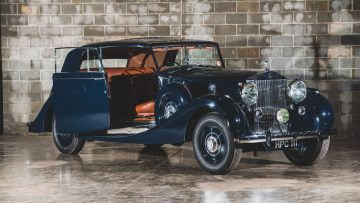 1938 Rolls-Royce Phantom III 'Parallel Door' Saloon