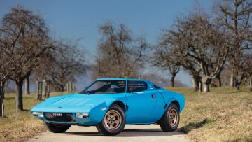 1975 Lancia Stratos HF Stradale by Bertone Peter Singhof ©2019 Courtesy of RM Sotheby's