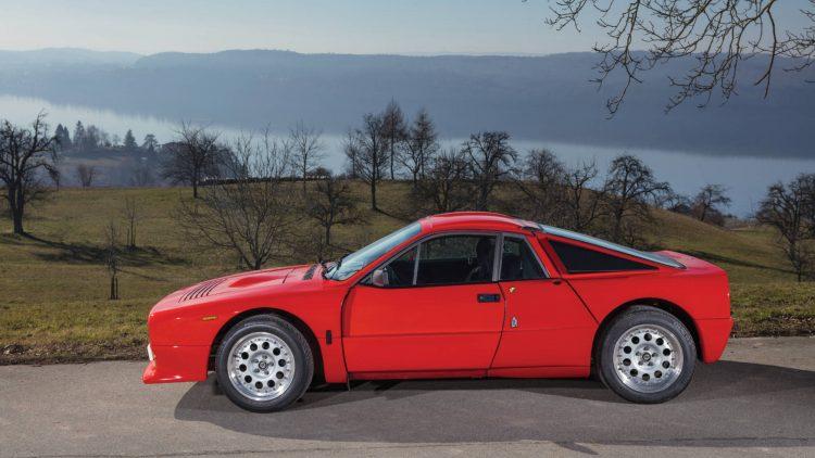 Red 1984 Lancia 037 Stradale