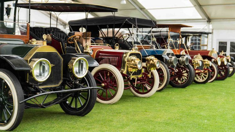 Brass Era Antique cars from the Don Boulton Collection sold at the Bonhams Amelia Island 2019 classic car auction. All 24 sold, some for world record prices.