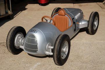 Auto Union Type C 'Silver Arrow' pedal car by Audi Quattro