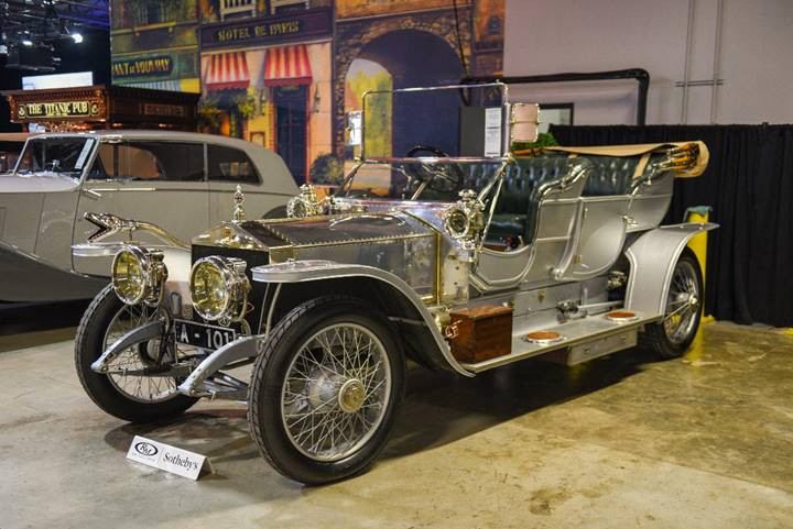 1909 Rolls-Royce 40/50 HP Silver Ghost Roi des Belges at Auction