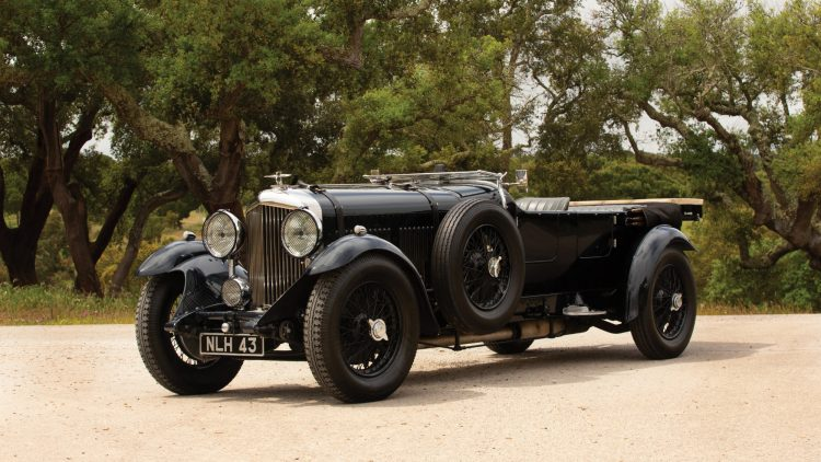1931 Bentley 8-Litre Tourer