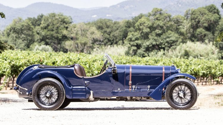 1935 Alfa Romeo 8C 2300 'Long Chassis' Tourer Prfile