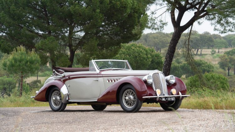 1939 Delahaye 135M Cabriolet by Chapron Tom Wood ©2019 Courtesy of RM Sotheby's