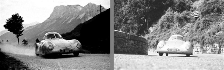 1939 Porsche Typ 64 in Action