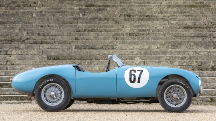 1952 Gordini Type 15S Barquette Profile