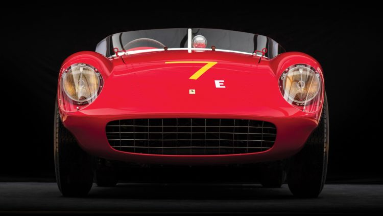 1954 Ferrari 500 Mondial Spider, chassis no. 0448 MD, Front