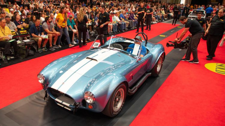 The 1967 Shelby 427 S/C Cobra Roadster, chassis CSX3042, at auction