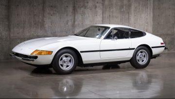 1972 Ferrari 365 GTB/4 Daytona (Estimate: $750,000 – $850,000)