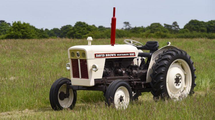 David Brown Selectamatic 990 Tractor