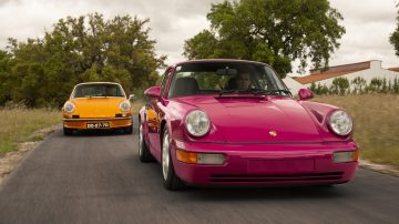 1973 Porsche 911 Carrera RS 2.7 Touring and 1992 Porsche 911 Carrera RS offered from the Sáragga Collection