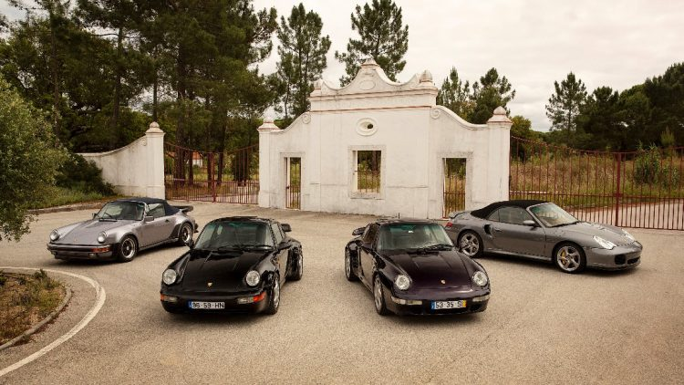 A group of exceptional Porsche models offered from the Sáragga Collection