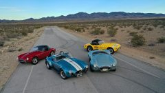 Four Shelby Cobras from The Steven Juliano Estate Collection