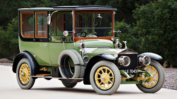 1911 Rolls-Royce 40/50 HP Silver Ghost Limousine (Estimate: $1,000,000 – $1,500,000)