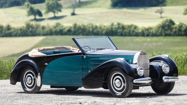 1938 Bugatti Type 57C Stelvio (Estimate: $1,200,000 – $1,400,000)