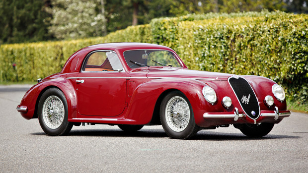 Red 1939 Alfa Romeo Tipo 256 Coupe (Estimate: $2,750,000 – $3,500,000)