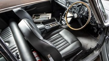 1965 Aston Martin DB5 James Bond Interior