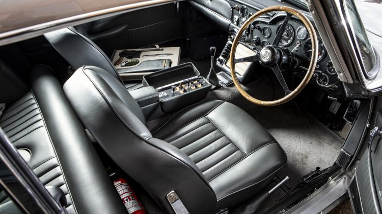 1965 Aston Martin DB5 James Bond Interior