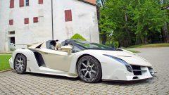 White-Cream Lamborghini Veneno