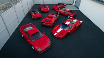 Ming Collection of Ferraris