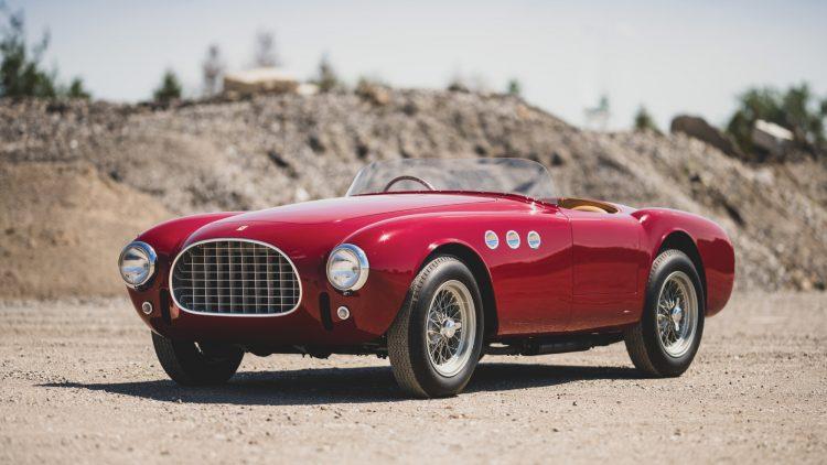 1952 Ferrari 225 Sport Spider (Est. $4,000,000 - $5,000,000)