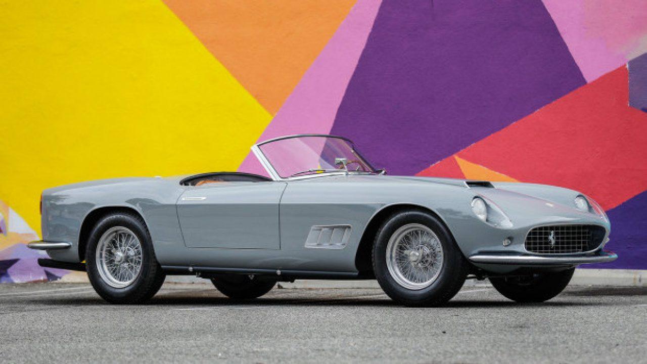 2019 Gooding Pebble Beach Sale Ferrari 250 Gt Lwb California Spider Announcement Top Classic Car Auctions
