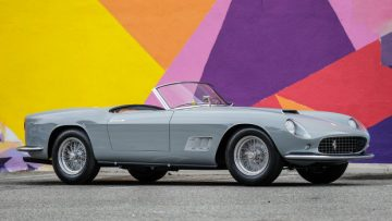 1958 Ferrari 250 GT LWB California Spider (Estimate: $11,000,000 – $13,000,000), chassis 1055 GT