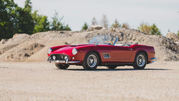 1962 Ferrari 250 SWB California Spider,