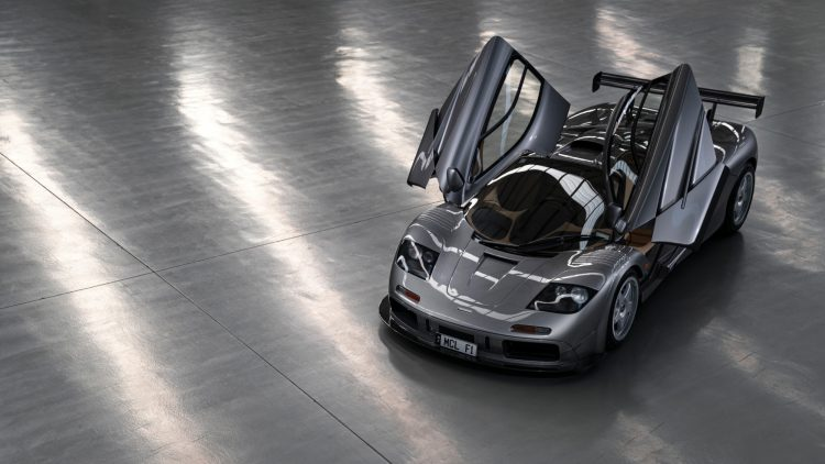 1994 McLaren F1 'LM-Specification' Above Open Doors