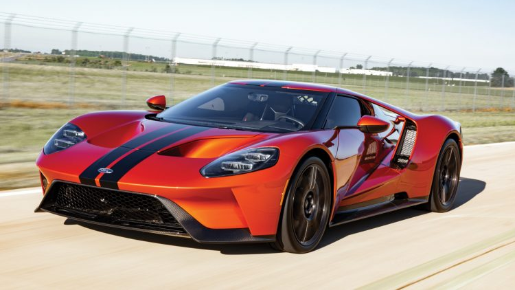 Beryllium Orange 2017 Ford GT