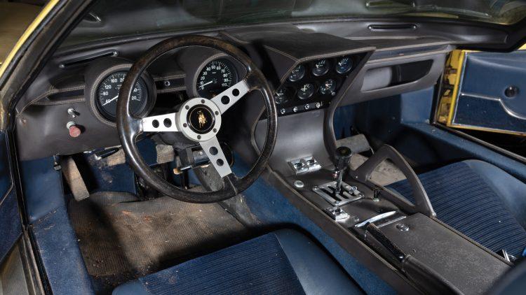 1969 Lamborghini Miura P400 S Interior