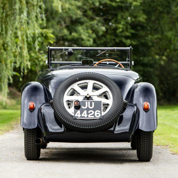 1932 Bugatti Type 55 by Figoni rear