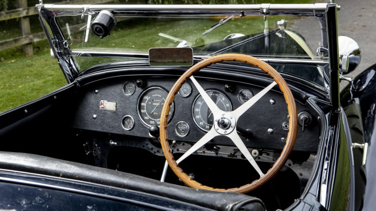 1932 Bugatti Type 55 by Figoni Dashboard