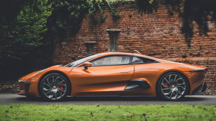 2015 Jaguar C-X75 Profile