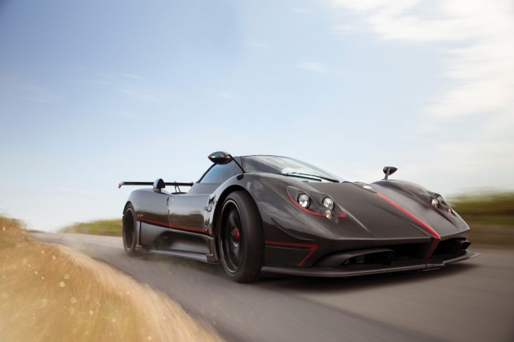 2017 Pagani Zonda Aether Front